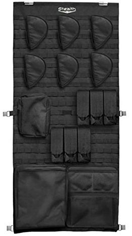 Stealth Molle gun safe door panel organizer