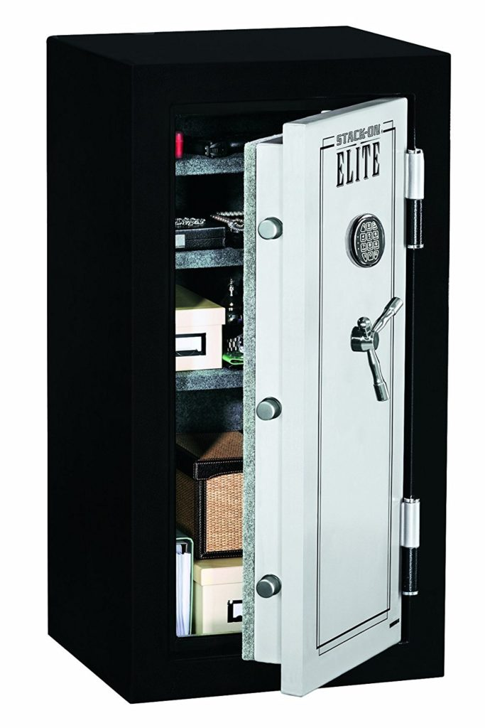 Stack-On E-040-SB-E Elite Junior Executive Fire Safe with Electronic Lock