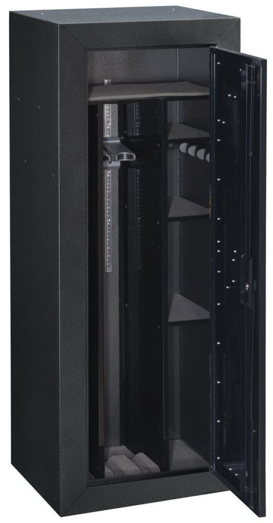 Stack-On TC-16-GB Tactical Security Cabinet (open door)